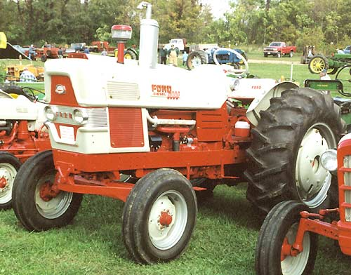 Ford 6000 Tractor Parts : The allis chalmers g rear engined cultivating tractor it