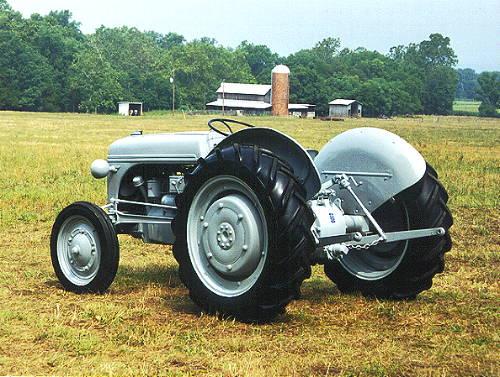 Restored Ford 9n : N restoration